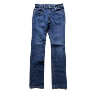 Alexander McQueen Jeans - Alexander McQueen Straight Leg Jean Made in Italy